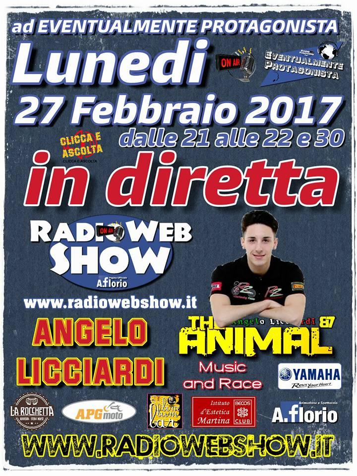 Angelo Licciardi a RadioWebShow