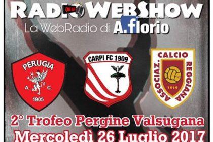 2° trofeo Pergine Valsugana – Triangolare AC Perugia – FC CARPI