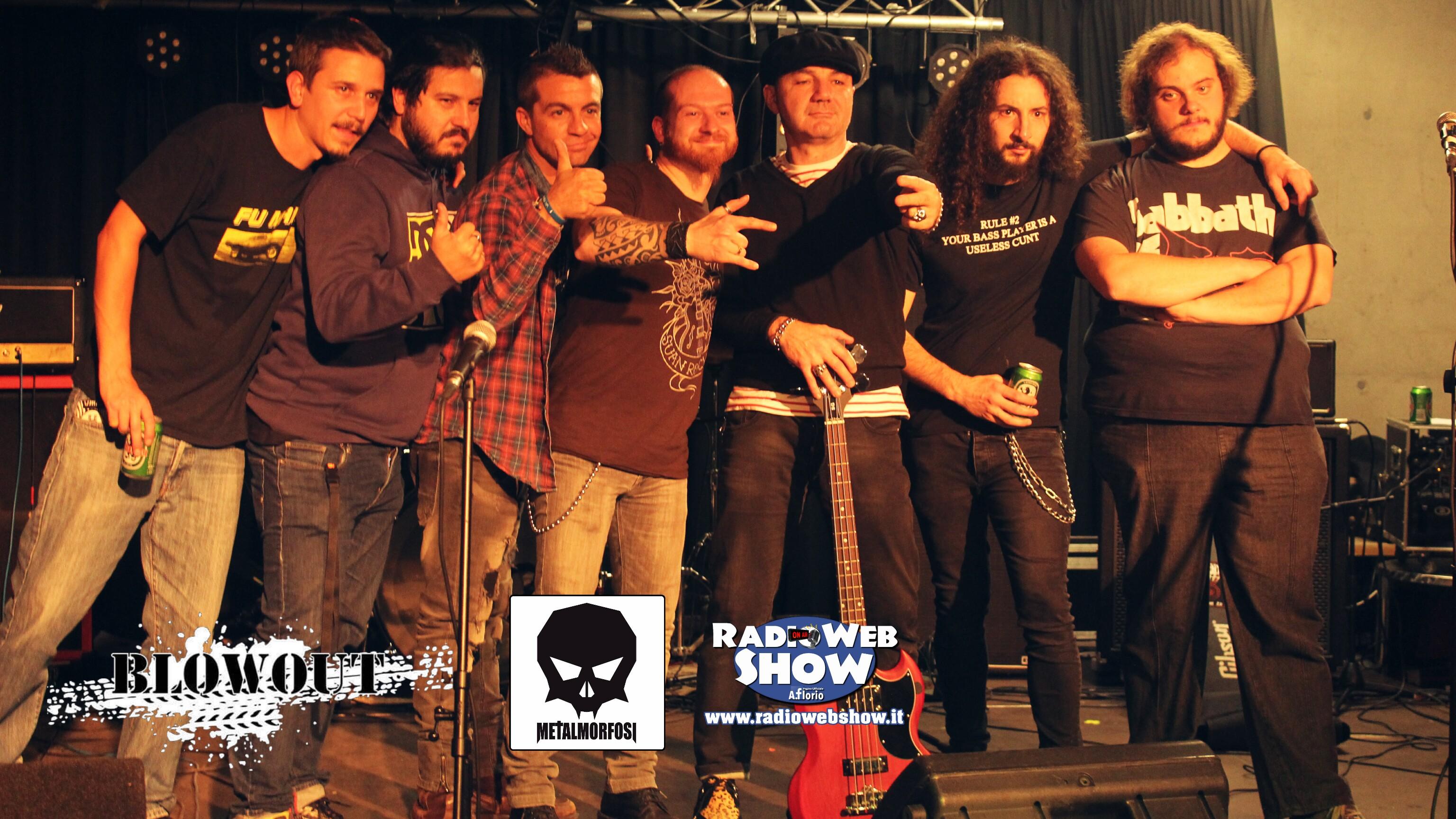 BURIED STRENGTH il nuovo disco dei Blowout in programmazione su RadioWebShow