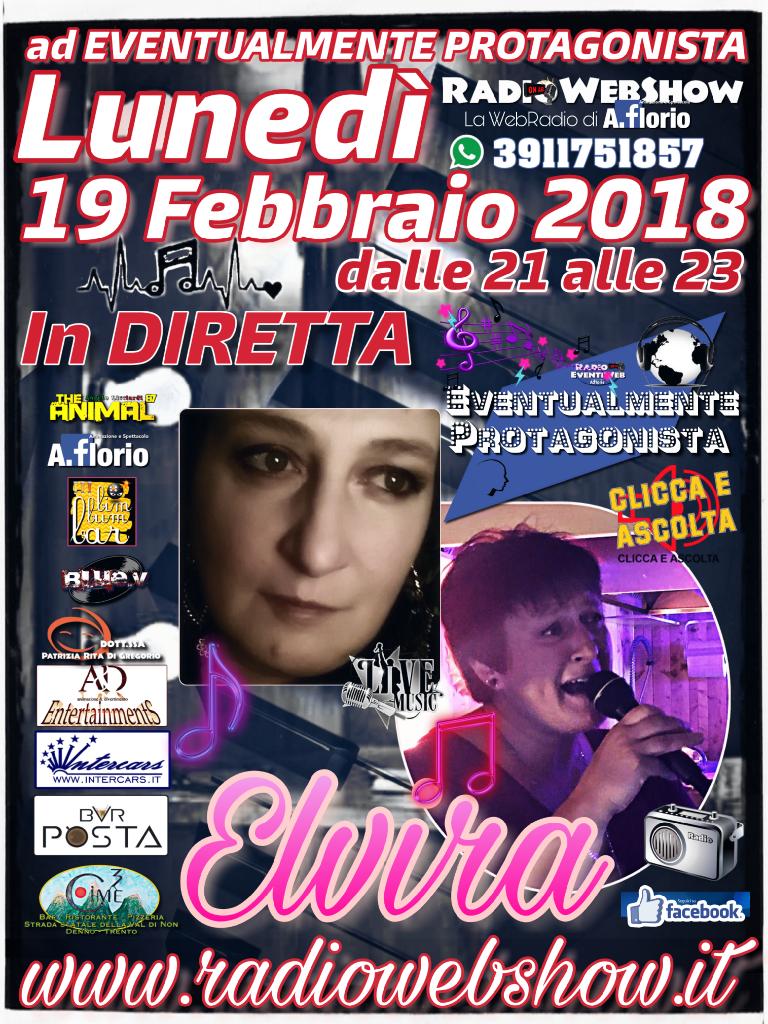 Tra le voci più belle del Trentino – Elvira ad EVENTUALMENTE PROTAGONISTA