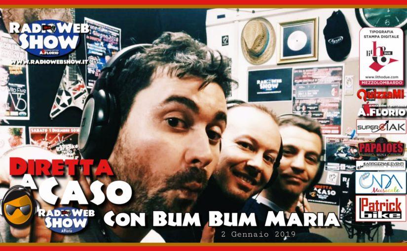 La Video Sintesi della divertentissima DIRETTA a CASO con Bum Bum Maria e Loris