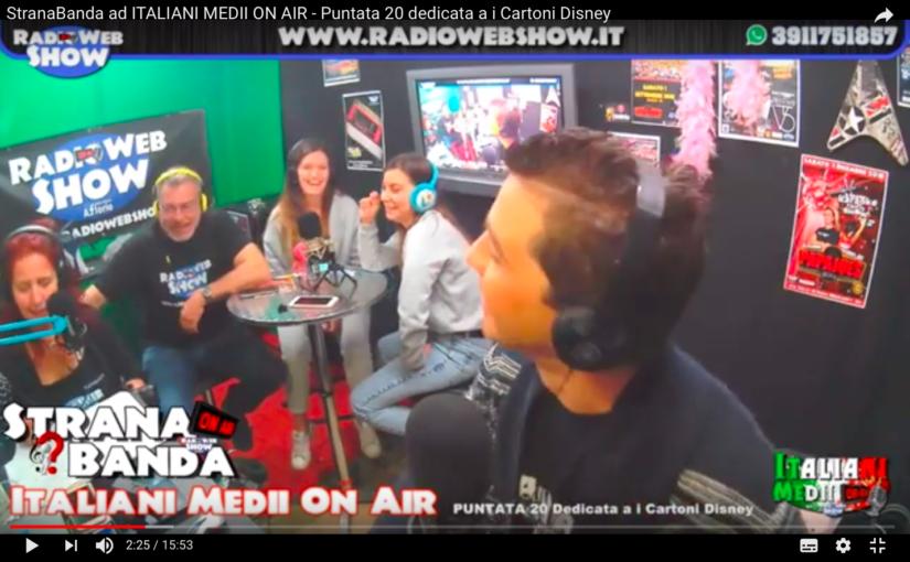 VIDEO – StranaBanda un nuovo pazzo gioco a RadioWeShow