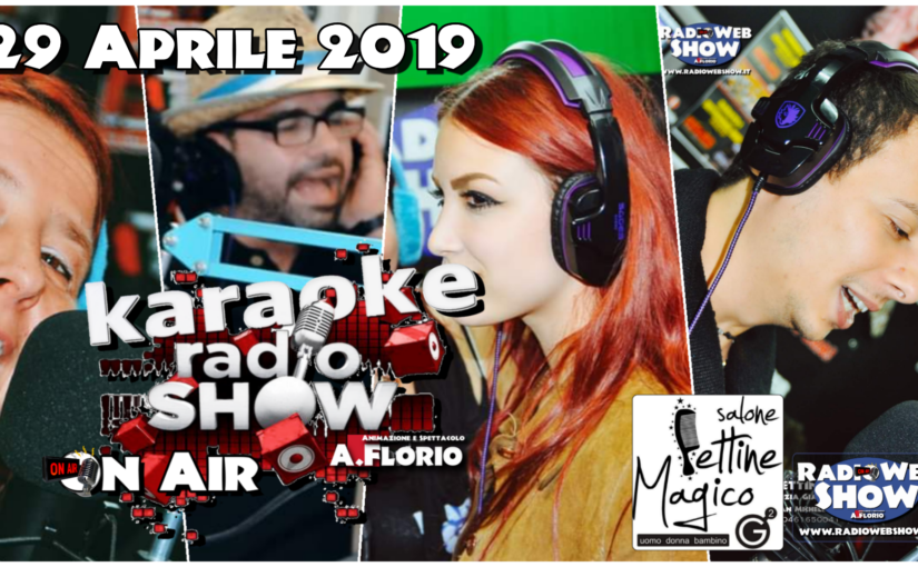 VIDEO SINTESI del KaraokeRadioShow On Air