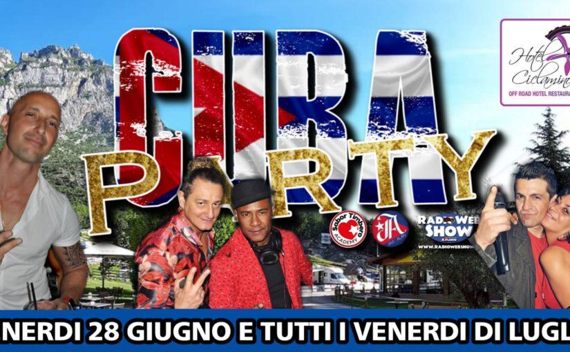 CUBA Party, il Format che ci accompagnerà per tutto Luglio 2019