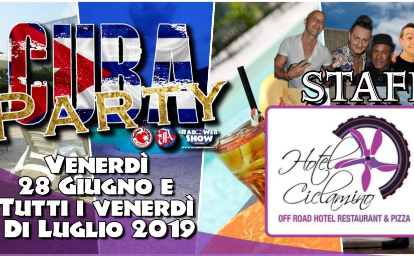 CUBA Party, tutto pronto!Venerdì 28 Giugno si parte.