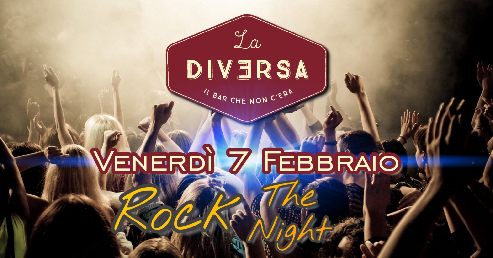 Rock The Night a LA DIVERSA con Angelo Florio e Dennis Forti – CONTIENE VIDEO PROMO Versione Estesa